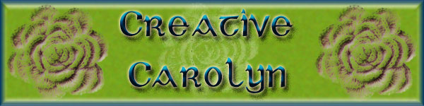 Creative Carolyn Banner